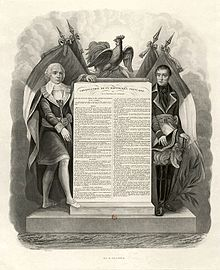 1793, June 24- New Constitution Proclamation