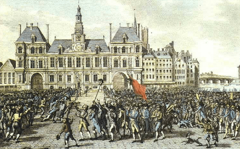 August 9 - Paris Commune established
