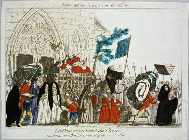 July 12- Civil Constitution of the French Clergy