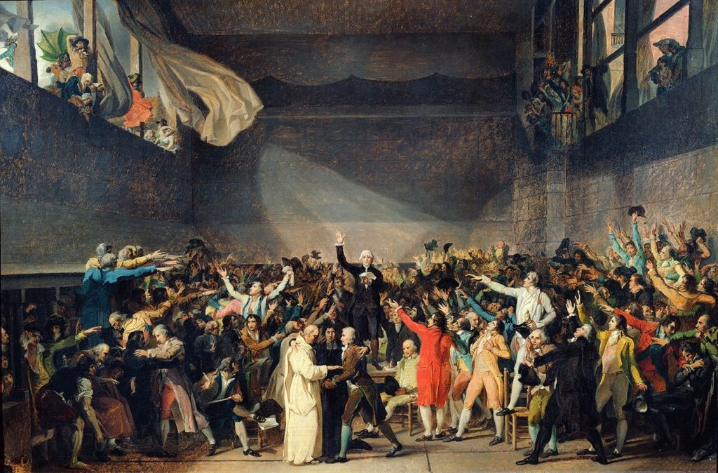 "June 20 – The ""Tennis Court Oath"""