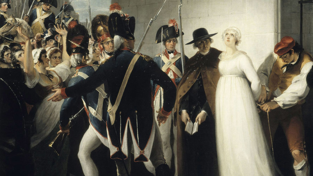 Marie Antoinette executed