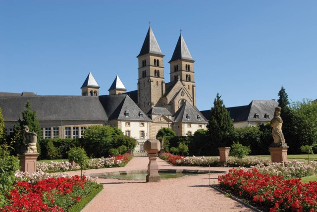 Carolingian Architecture Abbey of Echternach
