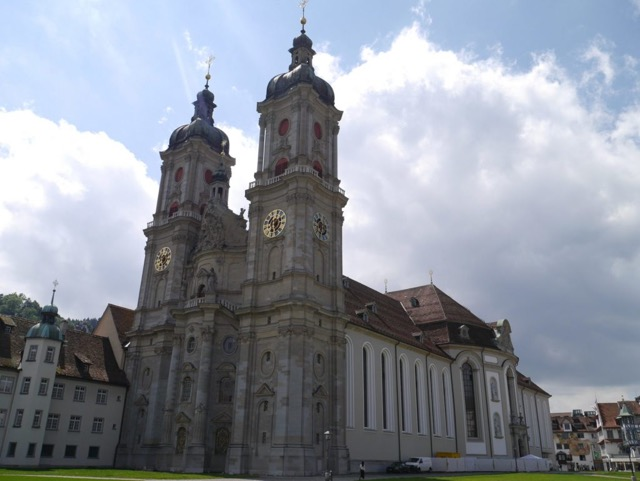 Abbey of Saint Gall  Carolingian Architecture