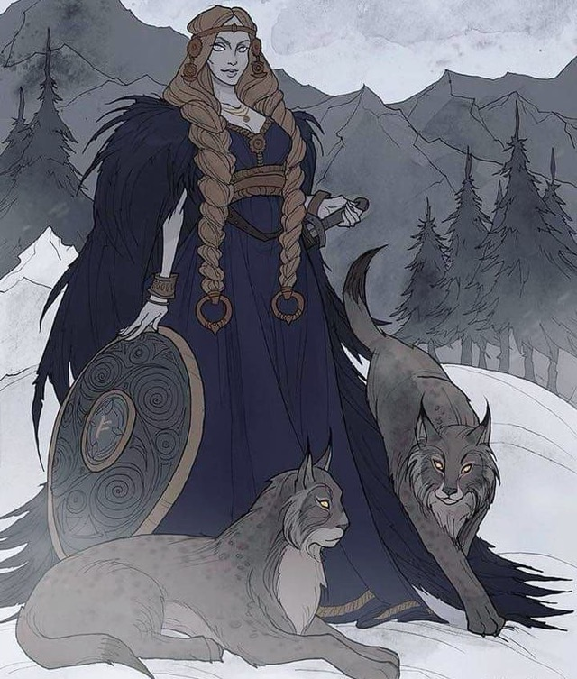 Freyja female viking