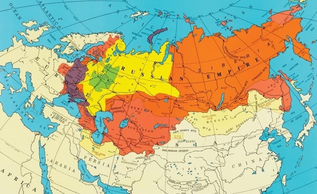 The Russian Empire - Third largest empire in human history