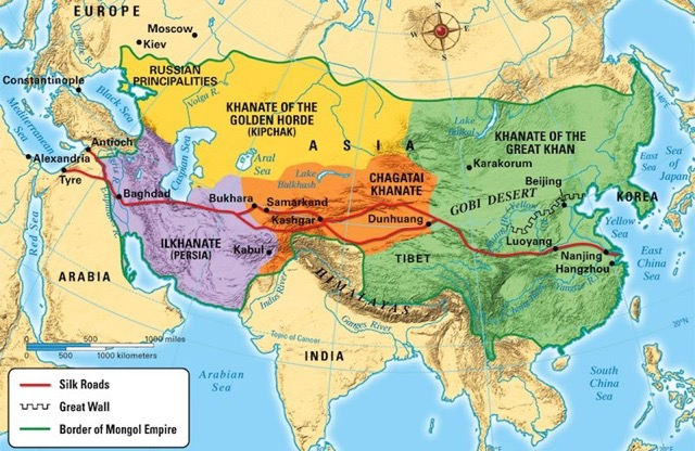 The Mongol Empire -Second largest empire in the human history