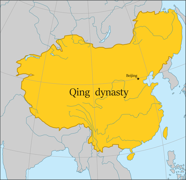 7th Largest Empire of Human history Qing Dynasty