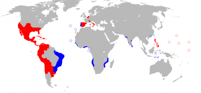 Spanish Empire Fourth Largest empire of human history
