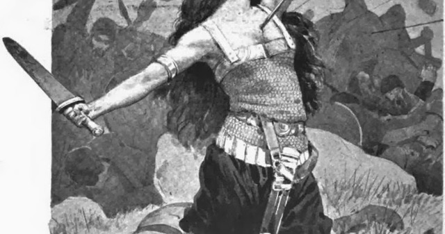 female viking Veborg