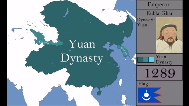 6th Largest empire The Yuan Dynasty