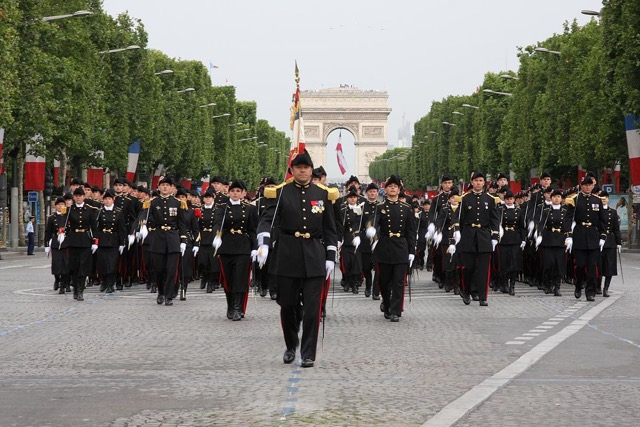 Bastille day the oldest military parade