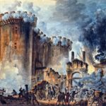 Bastille was attacked by gunpowder