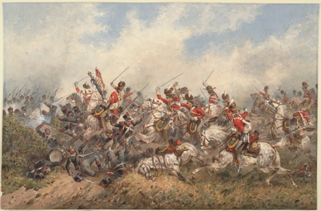 Battle of Waterloo bring radical changes in France and French attitudes.