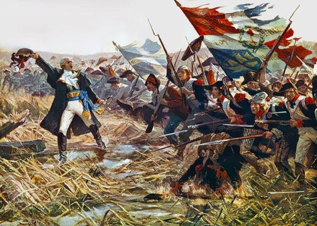 French Army and Prussian-British Army on 18th June 1815.