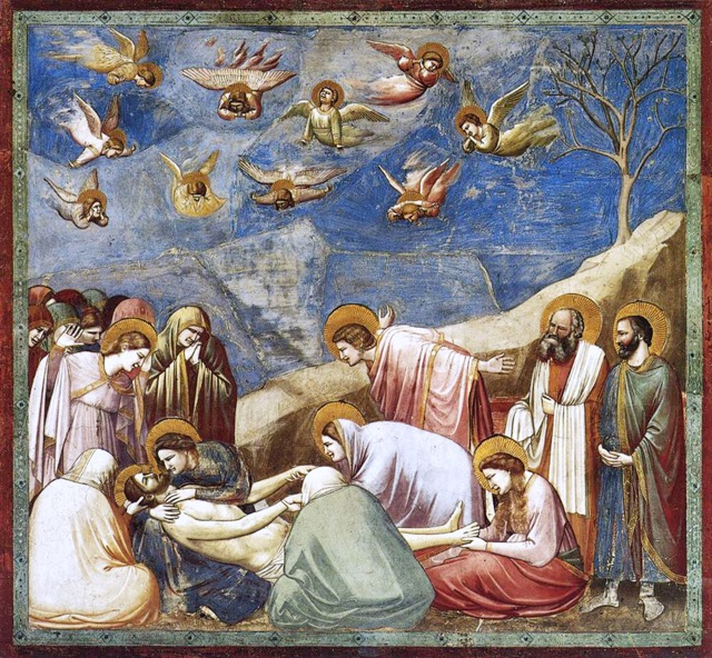 Lamentation (1306) by Giotto