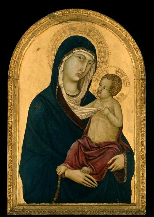 Madonna and Child (1325) by Giotto