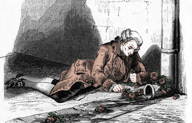 Marquis de Sade might have helped the attack of the Bastille