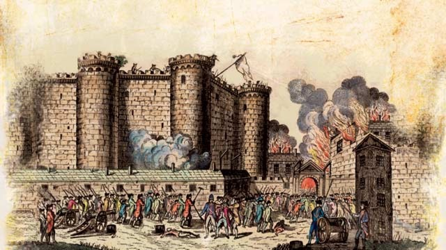 The radicalisation of the French Revolution