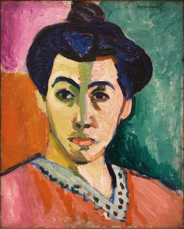 Henri Matisse The Green line