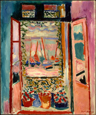 The Open Window painting by Henri Matisse
