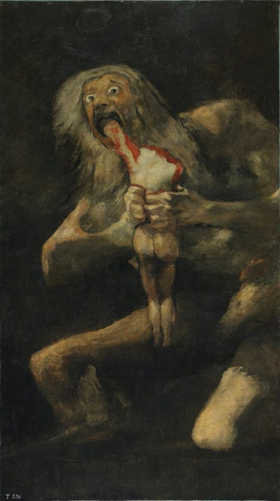 Peter Paul Rubens paintings Saturn Devouring His son