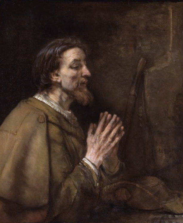 St. James, who questions Dante on hope