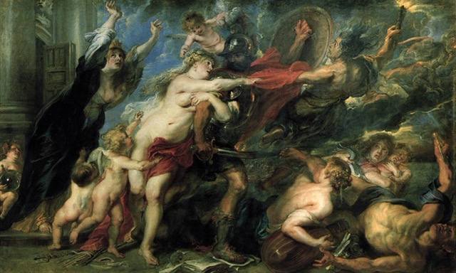 paintings of Peter Paul Rubens The horror of war
