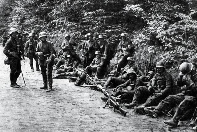 ww1 Battle of Caporetto