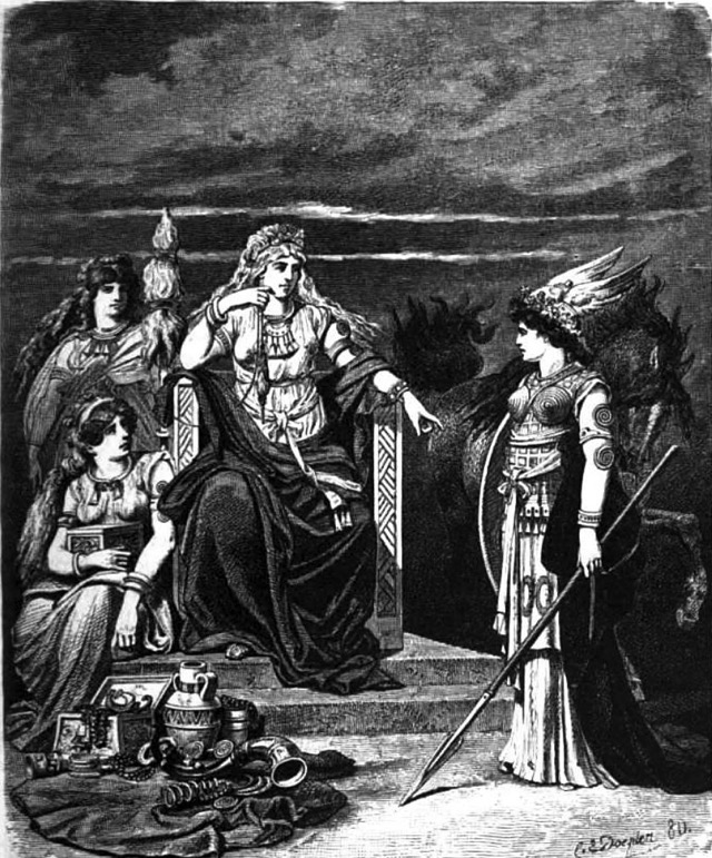 Frigg:  Goddess of Love, Motherhood, and Marriage