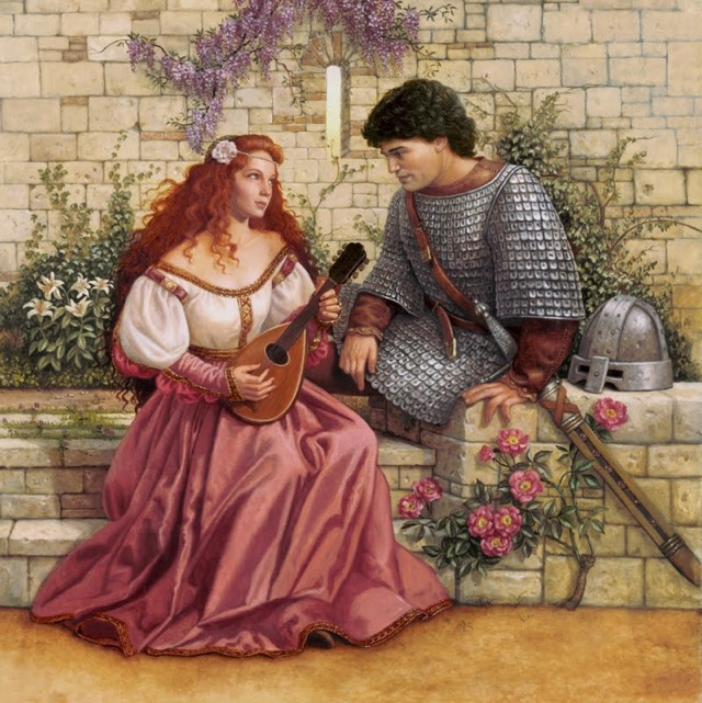 love story of Lancelot and Guinevere