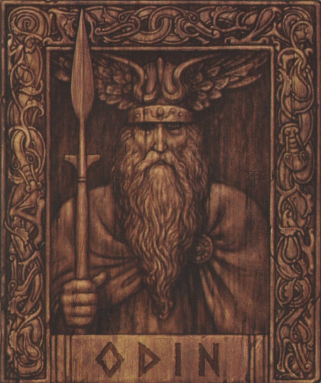 Odin: God of Chief Divinity (Father of all Gods)