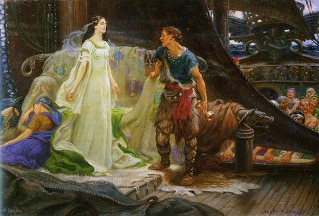 Tristan and Iseult love story