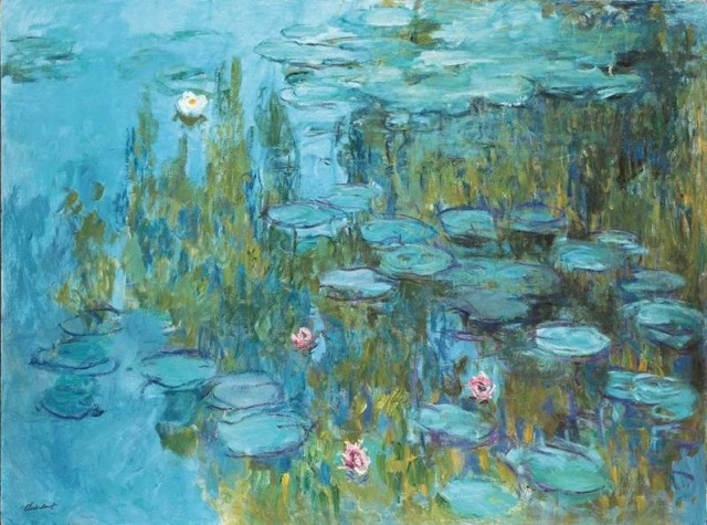Water Lilies series by Claude Monet