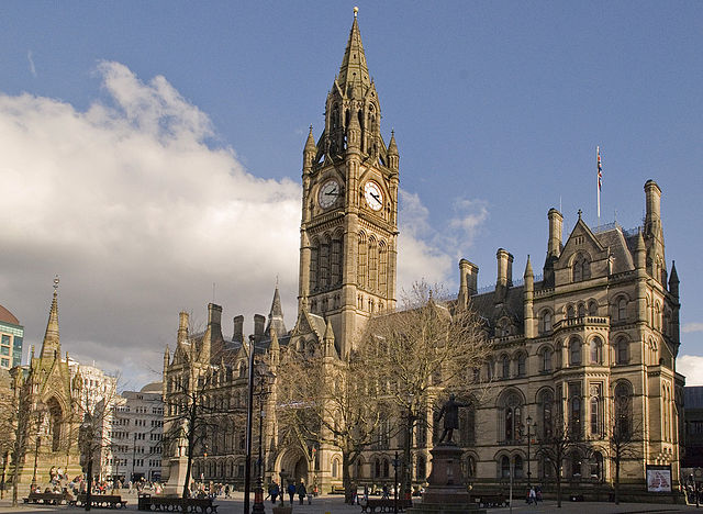 Victorian Architecture: Manchester Town Hall