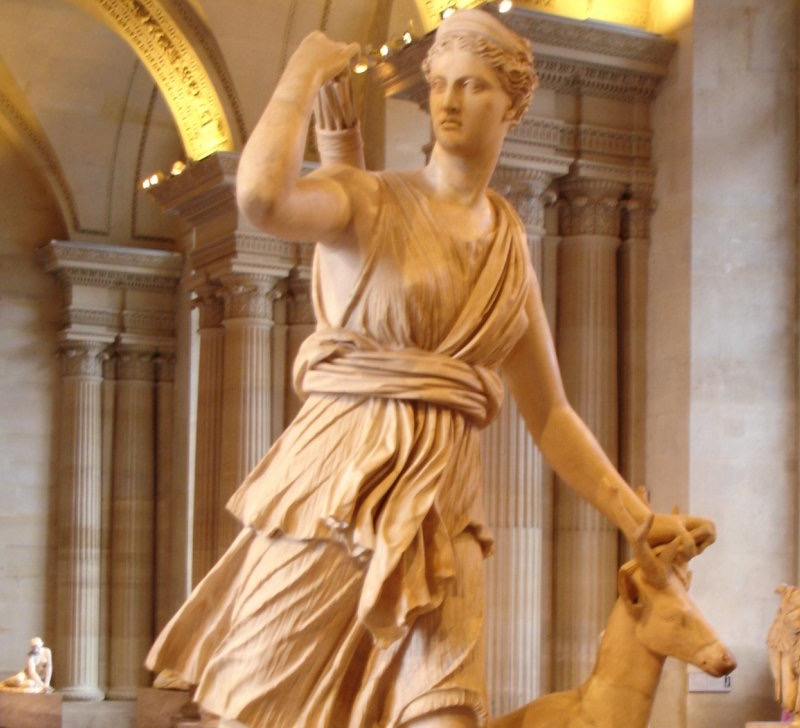 Ancient Greek Goddess Artemis