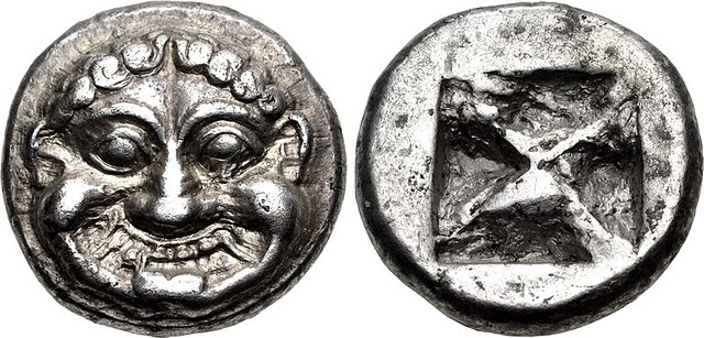 Coin of Athens, (545–525/15) BC