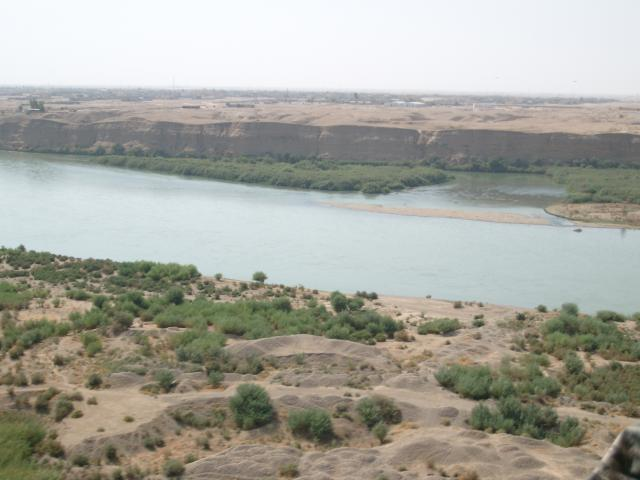 Tigris River Flowing in Upper Mesopotamia