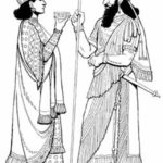 Assyrian King and Queen