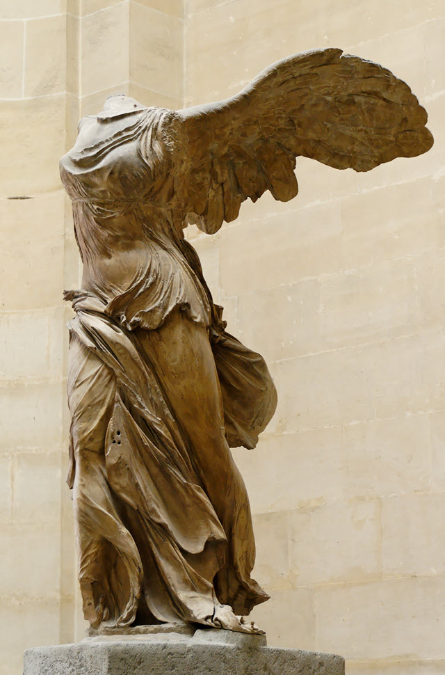 Nike of Samothrace is considered one of the greatest masterpieces of Hellenistic art