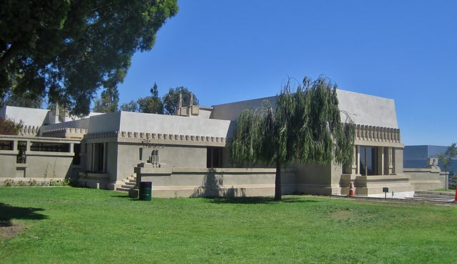 Hollyhock House, also known as Aline Barnsdall Complex