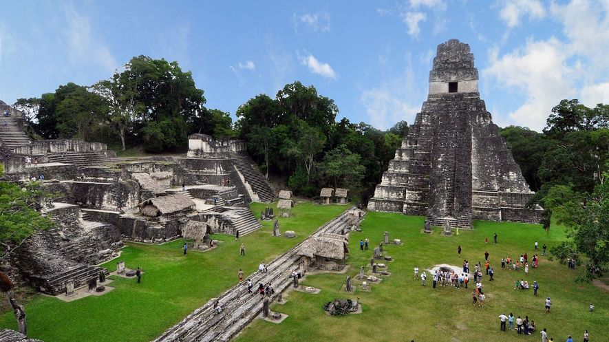Last ruins of Mayan Civilization