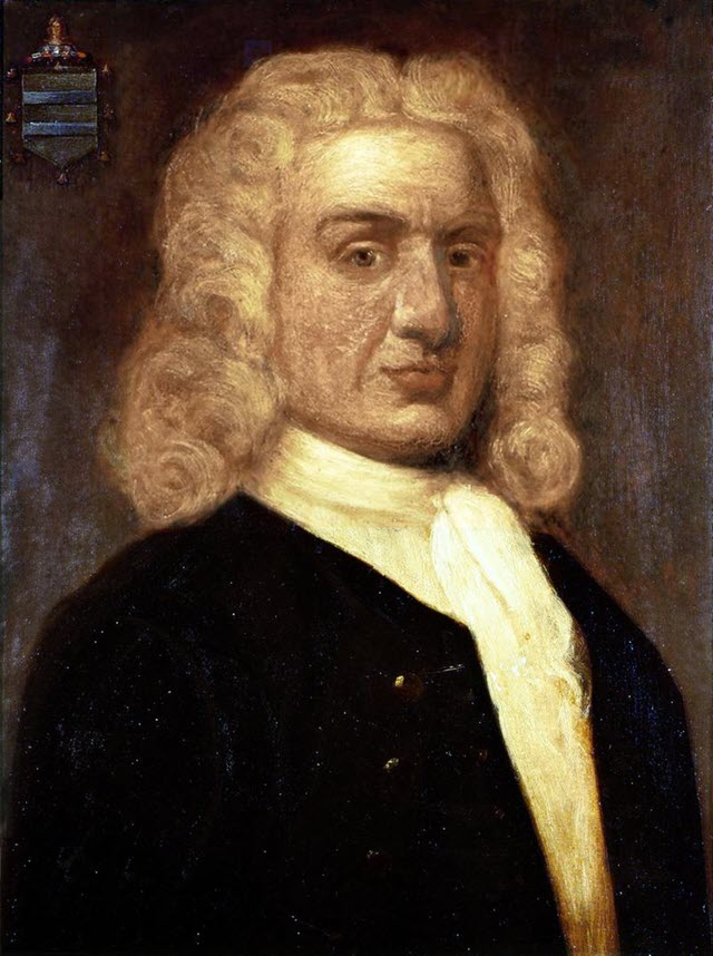 William Kidd, a  portrait by Sir James Thornhill made around the 18th century.