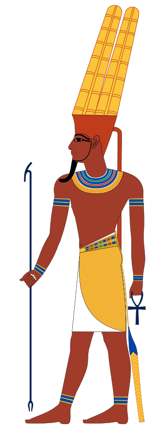 A depiction of Amun around the New Kingdom