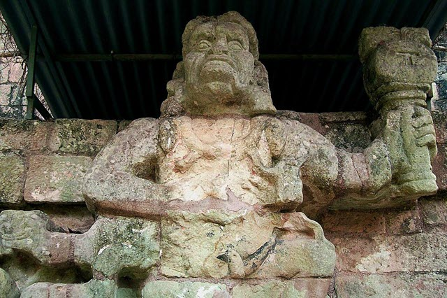 The famous site of Copan