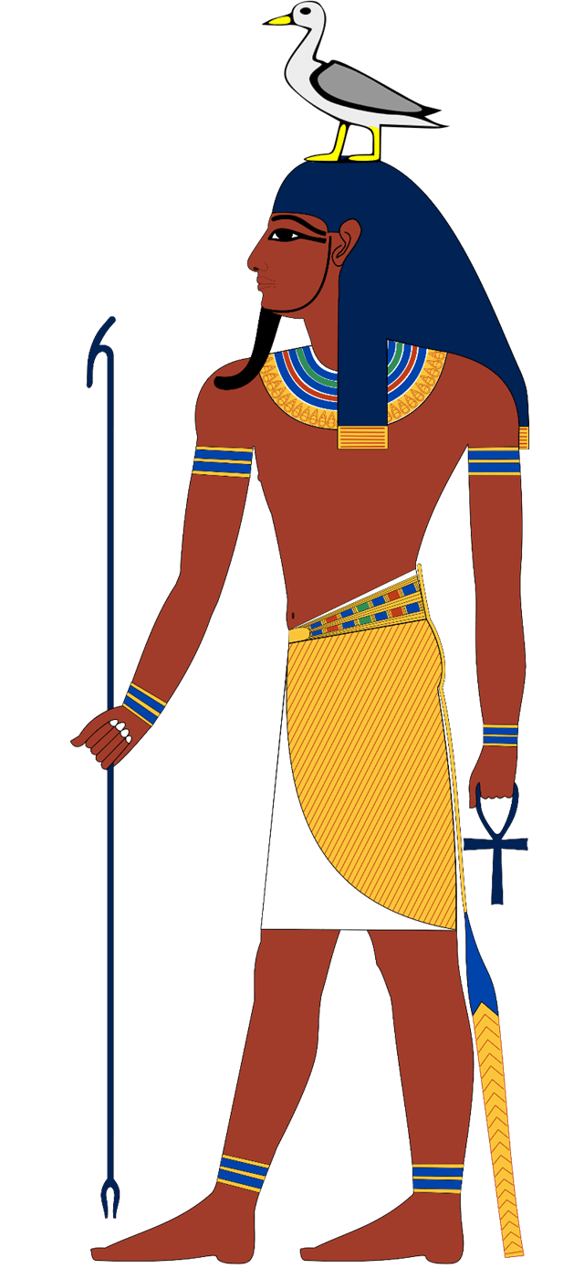 Geb, the Egyptian god of the Earth and a member of the Ennead