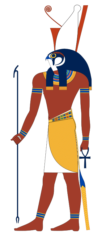 Horus, the ancient Egyptians' national tutelary deity