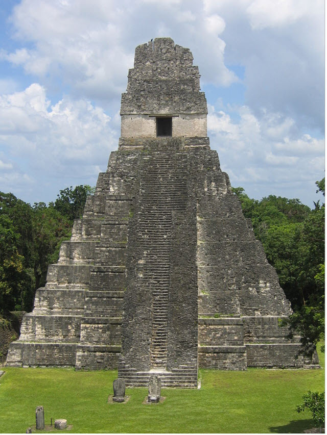 Picture of Tikal (Guatemala) taken on August 2006