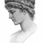A portrait of Hypatia
