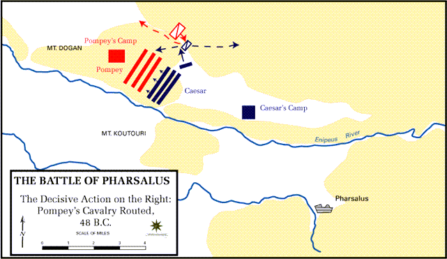 Battle of Pharsalus - 48 BC