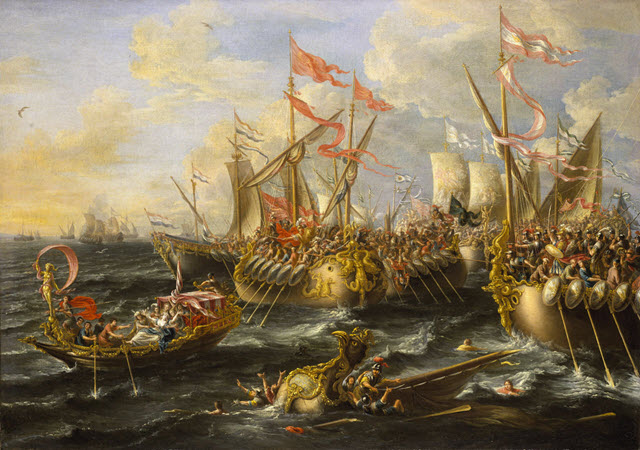 The decisive battle of the Naval Theater - Augustus vs Antony